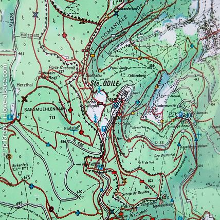 Carte Randonnee Alsace.Randonnees Alsace Vosges En Montagne Et Foret Au Depart De